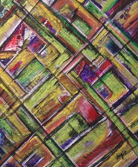 """AA2024-005 acrylique sur toile 20""""x24"""""""