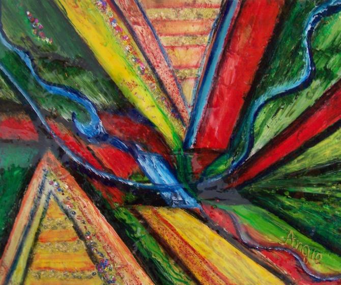 """AA2024-013 acrylique sur toile 20""""x24"""""""