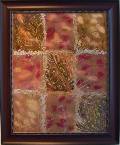 """AA2228-008 acrylique sur toile 22""""x28"""""""