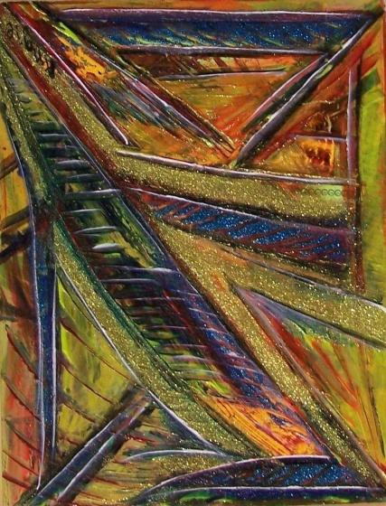 """AAMXD-048 technique mixte sur papier 14""""x18"""""""